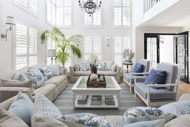 Now this is how you do hamptons decor in australia for Interior design bedroom australia